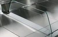 Делитель стеклянный мобильный низкий с крепежом для В2.Белинда