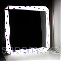 """Зеркало """"Лайн Led"""" 750х750"""