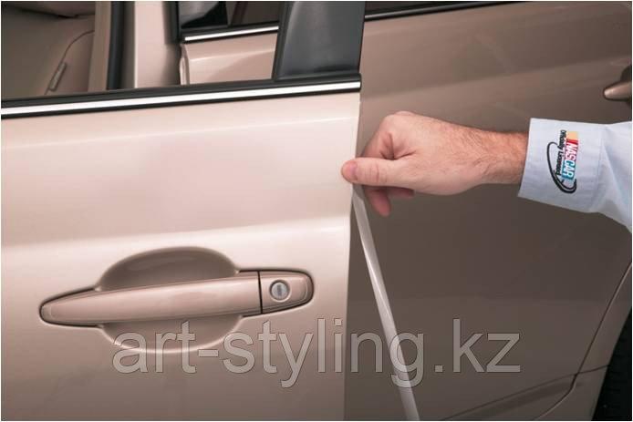 Прозрачная пленка для защиты кромок дверей автомобиля