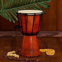 Музыкальный инструмент барабан джембе 'Классика' 25х14х14 см