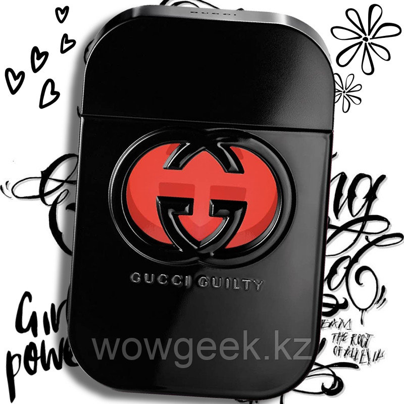 Женский парфюм Gucci Guilty black