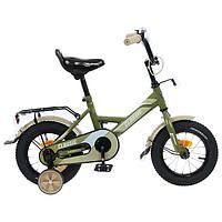 """Велосипед 12"""" Graffiti Classic, цвет хаки"""