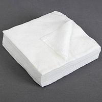 Салфетки косметические, плотность 50г/м2, спанлейс, 20 x 20 см, 100 шт