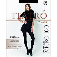 Колготки женские Micro 100 цвет чёрный (nero), р-р 3