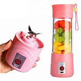 Портативный мини Блендер для смузи и коктейлей, USB Blender Juice Cup., фото 3