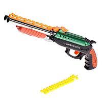 Ружьё пневматическое 'Двустволка', стреляет силиконовыми пулями, цвета МИКС