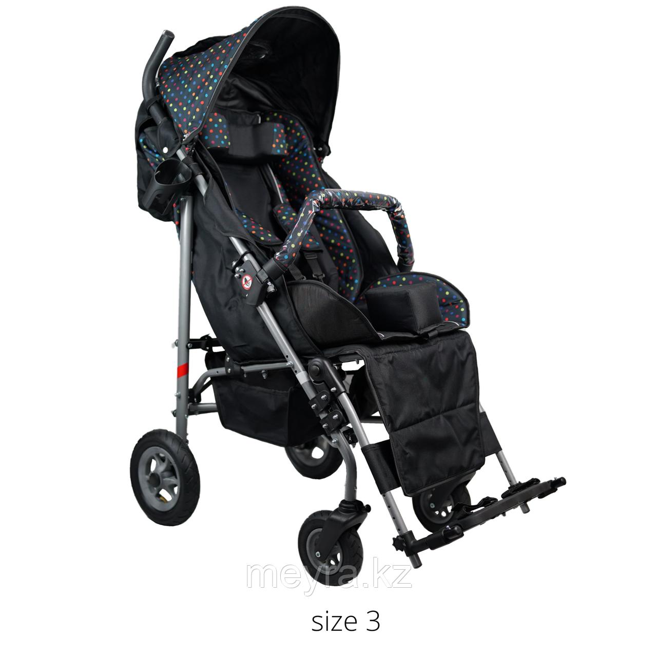Детская инвалидная кресло-коляска ДЦП UMBRELLA, размер 3, комнатная