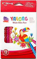 Фломастеры 12 цветов Yalong YL875125-12