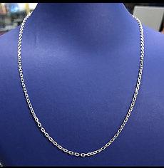 Цепь / серебро - 45 см