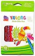 Фломастеры 12 цветов Yalong YL18002-12