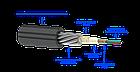 Оптический кабель для прокладки в грунт ОКБ-Т-А4-3.0 (волокно Corning США), фото 3