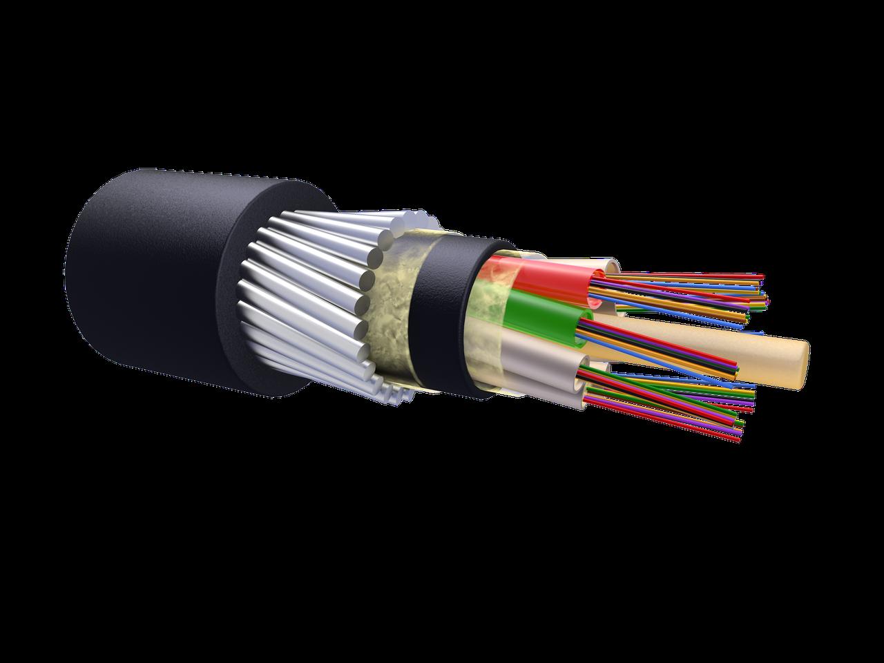 Оптический кабель для прокладки в грунт ОКБ-М8П-А96-8.0 (волокно Corning США)