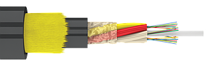 Оптический кабель ОКА-М4П-А16-3.0-(Л) подвесной самонесущий (волокно Corning США)
