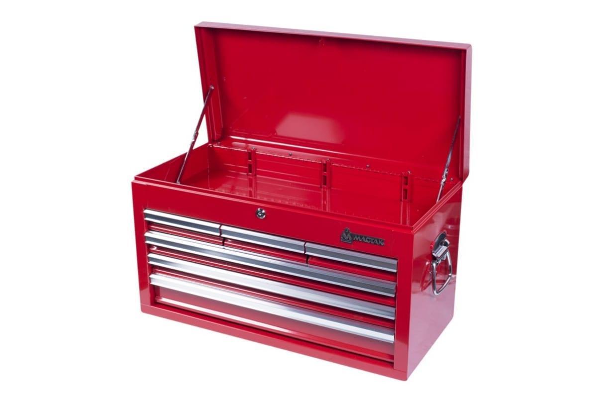 Ящик инструментальный 6 полок, красный МАСТАК 511-06570R