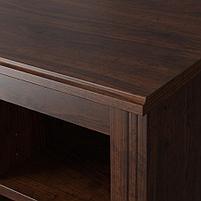 BRUSALI БРУСАЛИ Письменный стол, коричневый и белый 90x52 см, фото 4