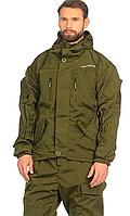 Костюм для охоты и рыбаки демисезонный Горка-5 цвет Хаки ткань Смесовая Рип-Стоп (Размер: 56-58)