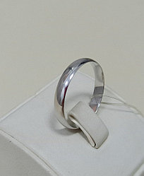 Обручальное кольцо / серебро / 22,5 размер