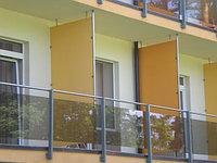 Материал HPL для балконных перегородок
