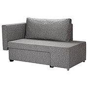 GRÄLLSTA ГРЭЛЛЬСТА 2-местный диван-кровать, Сандсбру серый