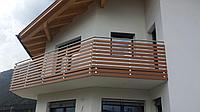 Балконные перегородки из HPL панелей - материал