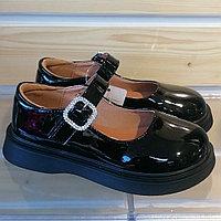Туфли черные лакированные для девочек