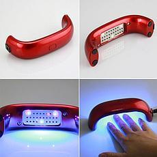 Уценка (товар с небольшим дефектом) LED лампа для сушки гель-лака, фото 3