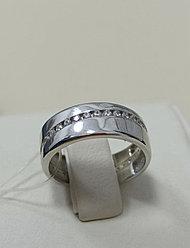 Обручальное кольцо / серебро / 16,5 размер