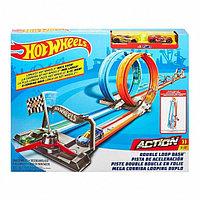 """Трек Hot Wheels """"Двойная Петля"""" Mattel"""