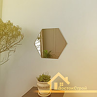 Зеркало Шестиугольник с Еврокромкой