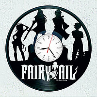 Настенные часы Fairy Tail anime Аниме Хвост Феи, подарок фанатам, любителям, 2192