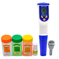 Amtast AMT03 Прибор для измерения pH, EC, TDS, Salt, Temp качества воды (без ОВП электрода)  AMT03