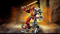 Конструктор Каменный робот огня LARI 11555, аналог (LEGO NINJAGO) Fire Stone Mech 71720