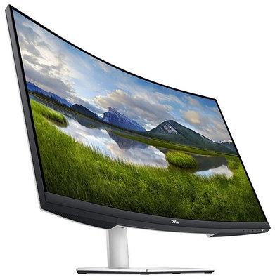 """Монитор 31.5"""" Dell S3221QS, черный/серебристый/белый"""