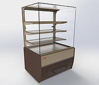 Витрина кондитерская, Ариада ВС25К.Жасмин ВС25СK-900 (кубическая)