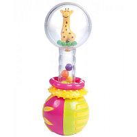 Погремушка Canpol babies Прозрачный шар с Жирафом 2/457