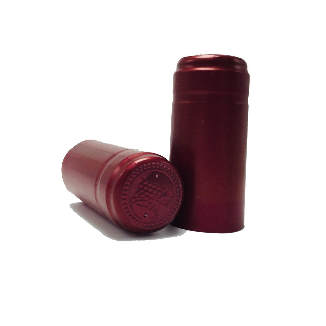 Термоколпачек для бутылок (красный)