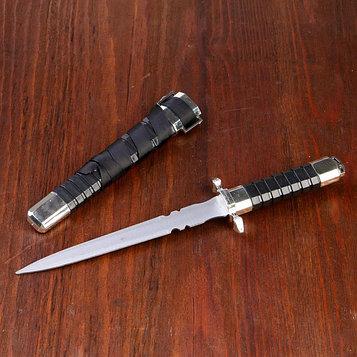 Кортик, рукоять и ножны с рёбрами, 29,5 см