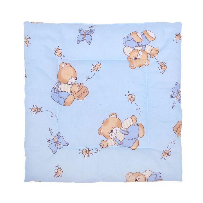Подушка для мальчика, размер 40х40 см, цвет МИКС
