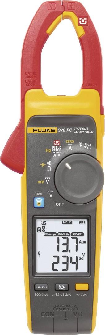 Токовые клещи Fluke 378 FC/E