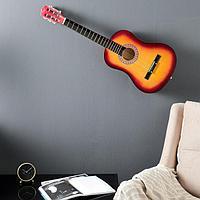 Сувенирная гитара для интерьера, санберст