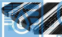 Придверная решетка Евро широкий скребок+резина+текстиль
