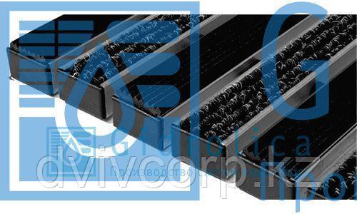 Придверная решетка Gidrolica Step - резина+текстиль,  м.кв.