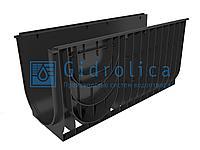 Арт. 834 Лоток водоотводный Gidrolica Standart ЛВ-30.38.48 - пластиковый