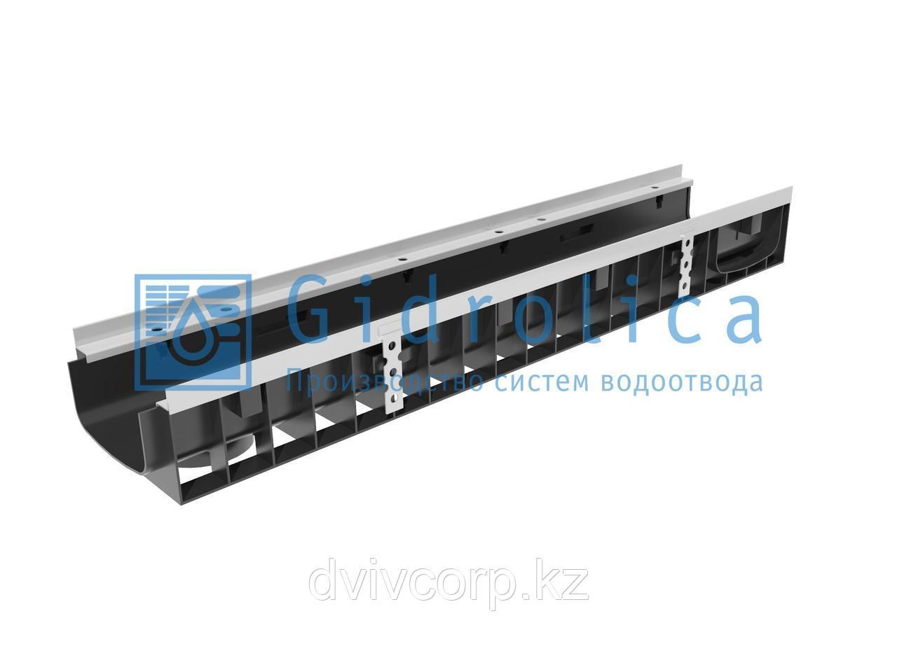 Арт. 0815 Лоток водоотводный Gidrolica Super ЛВ -15.19,6.11,8 - пластиковый, кл. Е600