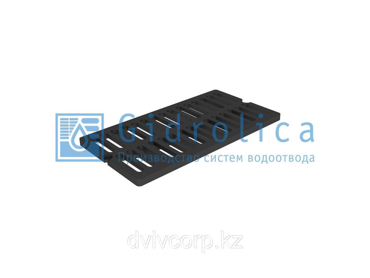 Арт. 5072D Решетка водоприемная СЧ 750*400*27 – чугунная, кл. D400