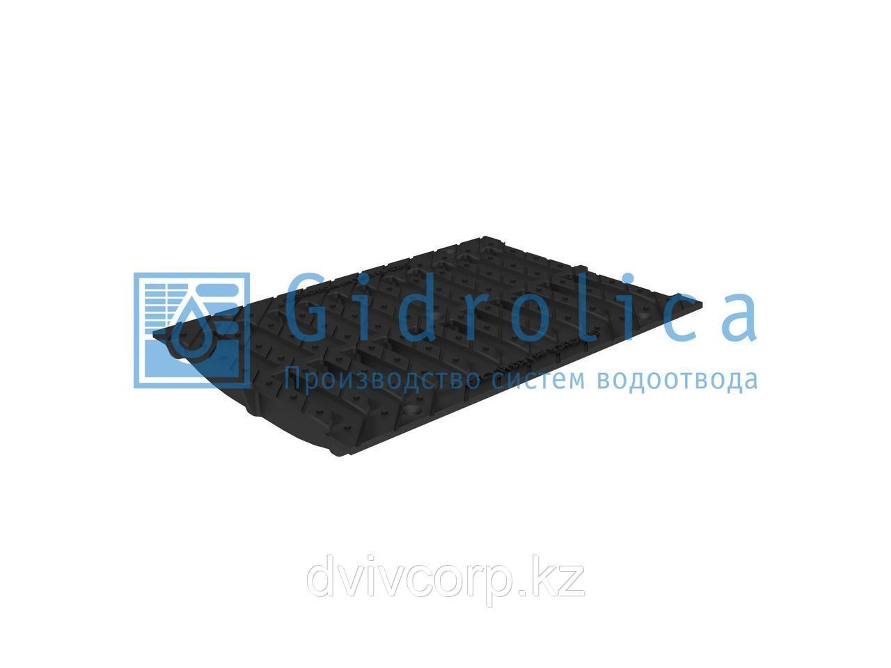 Арт. 534 Решетка водоприемная Gidrolica Standart РВ -30.37.50 - щелевая чугунная ВЧ, кл. С250