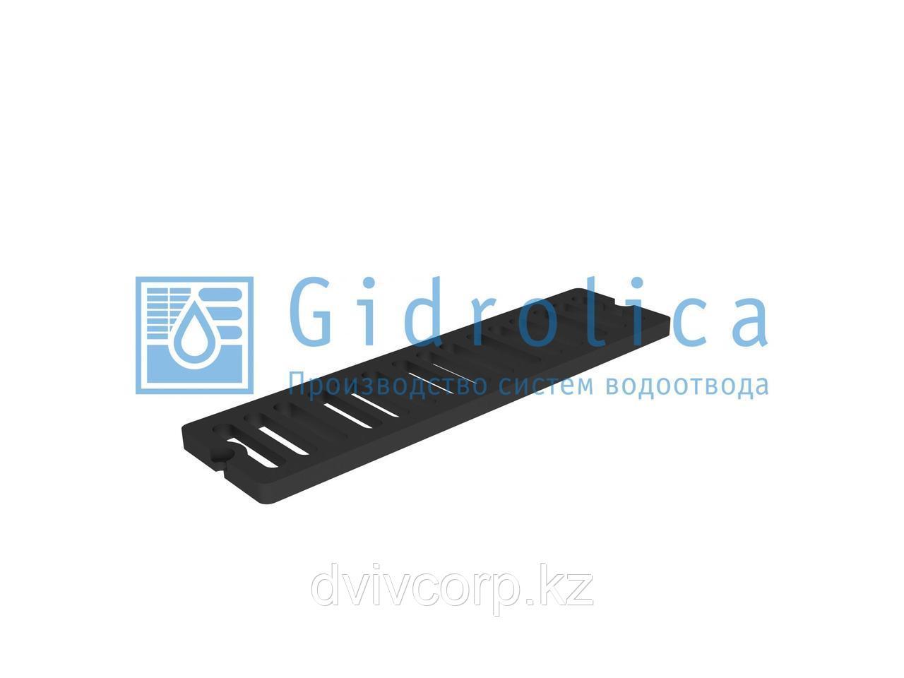 Арт. 5068D Решетка водоприемная СЧ 750*200*27 – чугунная, кл. D400