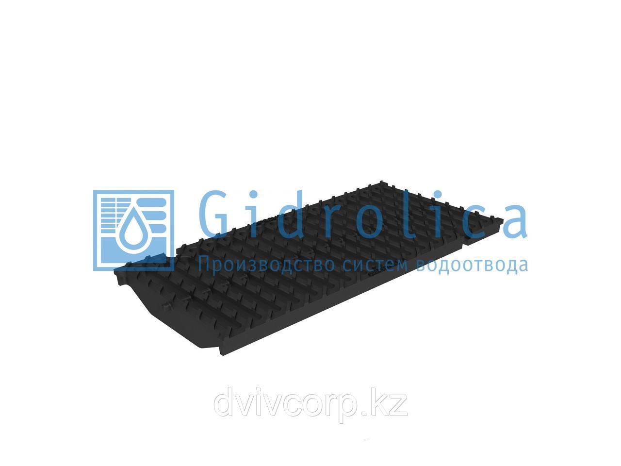 Решетка водоприемная Gidrolica Super РВ -20.24.50 - щелевая чугунная ВЧ, кл. E600