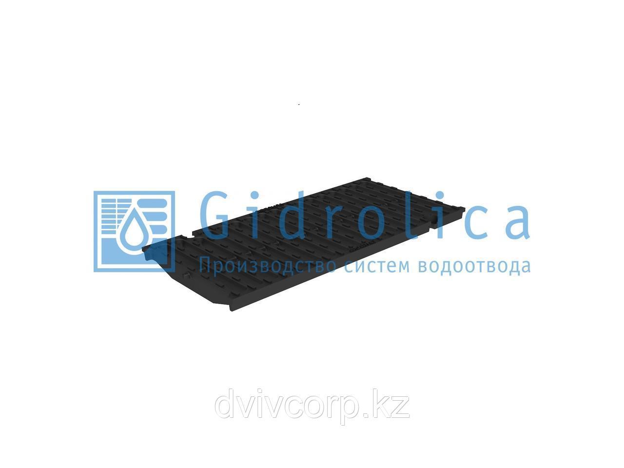 Решетка водоприемная Gidrolica Super РВ -20.24.50 - щелевая чугунная ВЧ, кл. D400
