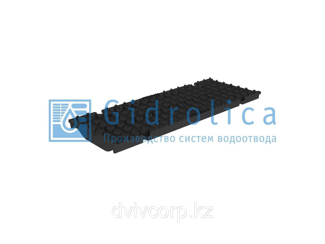 Решетка водоприемная Gidrolica Super РВ -15.19.50 - щелевая чугунная ВЧ, кл. E600